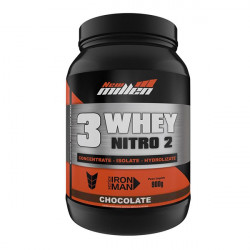 3 Whey Nitro 2 Chocolate 900g New Millen