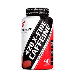 Caffeine X-Fire 420mg 40 Tabletes Bodyaction