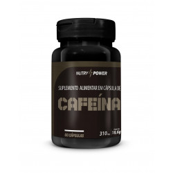 Cápsulas de Cafeína Super 60 de 310mg Nutry Power Apinustri