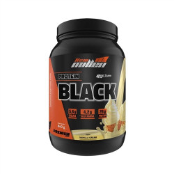 Protein Black Vanilla Cream 840g New Millen