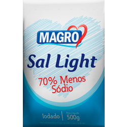 Sal Light 70% 500g Lowçucar